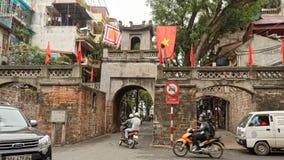 Straten van Hanoi royalty-vrije stock afbeeldingen