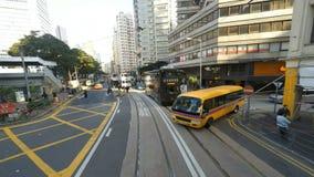Straten van Hong Kong stock video
