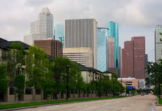 Straten van Houston stock afbeelding