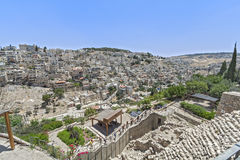 Straten van Jeruzalem royalty-vrije stock foto