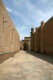 Straten van Khiva Stock Foto