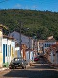 Straten van Lençois Chapada DIamantina, Brazilië royalty-vrije stock afbeeldingen