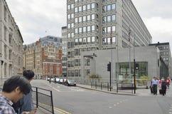 Straten van Londen Royalty-vrije Stock Afbeeldingen