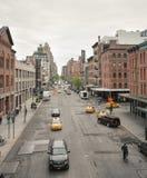 Straten van Manhattan Royalty-vrije Stock Afbeelding