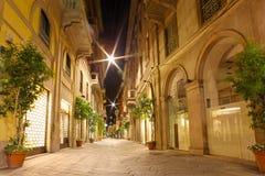 Straten van Milaan, Italië Royalty-vrije Stock Afbeeldingen