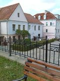 Straten van Minsk Oude Stad Royalty-vrije Stock Afbeelding