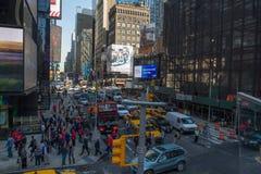 Straten van New York Stock Afbeelding
