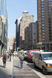 Straten van New York Royalty-vrije Stock Fotografie