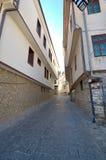 Straten van Ohrid, Macedona Royalty-vrije Stock Fotografie