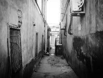 Straten van oude Baku Stock Afbeelding
