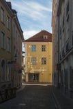 Straten van Oude Stad Stock Afbeelding