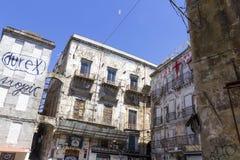 Straten van Palermo Royalty-vrije Stock Foto's