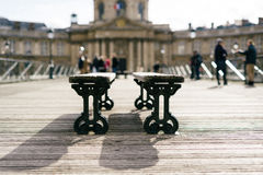 Straten van Parijs stock foto's