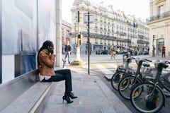Straten van Parijs stock fotografie