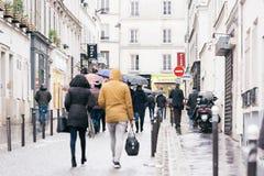 Straten van Parijs Royalty-vrije Stock Foto