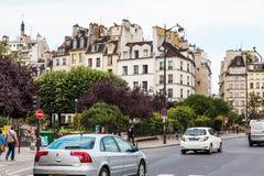 Straten van Parijs Stock Foto