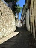 Straten van Porto Portugal in de Zomer stock foto