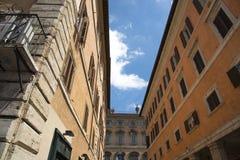 Straten van Rome Stock Afbeeldingen