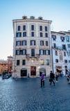 Straten van Rome Stock Foto