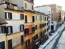 Straten van Rome Royalty-vrije Stock Foto's