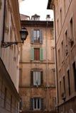 Straten van Rome Stock Foto's