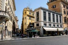 Straten van Rome, Italië Royalty-vrije Stock Afbeelding