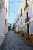 Straten van San Juan Puerto Rico royalty-vrije stock afbeeldingen