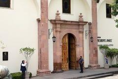 Straten van San Luis stock afbeeldingen