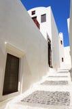 Straten van Santorini Royalty-vrije Stock Foto