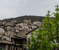 Straten van Scanno, Italië Royalty-vrije Stock Afbeeldingen