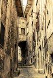 Straten van Scanno, Italië Stock Afbeeldingen