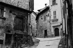 Straten van Scanno, Italië Royalty-vrije Stock Fotografie