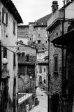 Straten van Scanno, Italië Stock Afbeelding