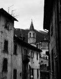 Straten van Scanno, Italië Royalty-vrije Stock Foto's