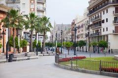 Straten van Sevilla royalty-vrije stock fotografie