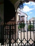 straten van Sevilla Stock Fotografie