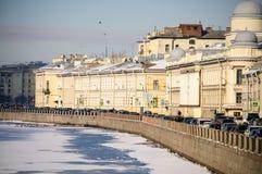 Straten van St. Petersburg royalty-vrije stock afbeelding