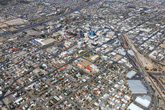 Straten van Tucson royalty-vrije stock afbeelding