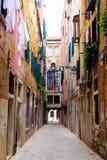 Straten van Venetië Stock Foto