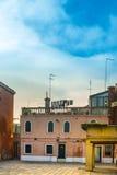 Straten van Venetië Royalty-vrije Stock Foto's