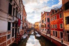 Straten van Venetië Royalty-vrije Stock Foto
