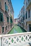 Straten van Venetië Italië Stock Foto