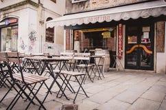 Straten van Venetië Italië Stock Foto's