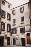 Straten van Venetië Italië Stock Afbeeldingen
