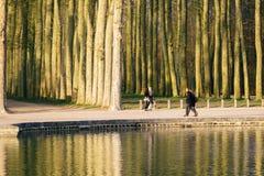 Straten van Versailles Royalty-vrije Stock Afbeeldingen
