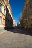 Straten van Vyborg Stock Fotografie