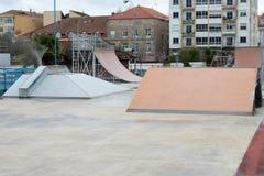 Stratendia's voor skateboarders royalty-vrije stock afbeeldingen
