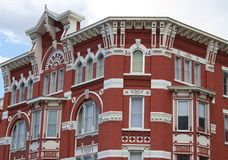 Strater Hotel. Historic Victorian architecture of the Strater Hotel in Durango, Colorado stock photo