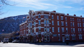 Strater Hotel in Durango, Colorado Stock Photography