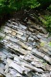 Strates de roche chez Gelendzhik, Russie Photos libres de droits